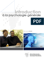 Introduction a La Psychologie Generale