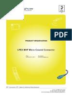 Ipex Mhf Coax Cable