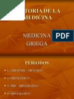 Clase 4.Hdlm Medicina Griega.