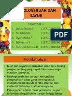 Ppt Fisiologi Buah Dan Sayur
