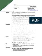 46503332 Resume Finance