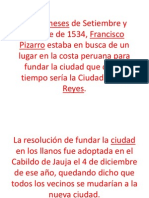 Fundacion Del Peru