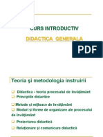 Curs Didactica