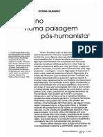Haraway Paisagem Pos Humanista