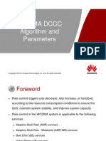 9 WCDMA RAN12 DCCC Algorithm and Parameters ISSUE1.00