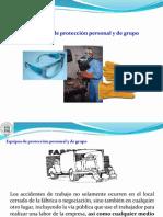 IV.-EQUIPOS DE PROTECCIÓN PERSONAL Y DE GRUPO