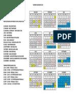 Takwim Kalendar 2014 Versi 1