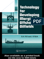 Technology for Developing Marginal Offshore Oilfields