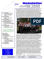 Newsletter 10 Dec 2013