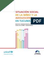 Situacion Infancia Adolescencia Tucuman 2012