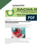 ,,Sacha Inchi Cultivo y Proceso