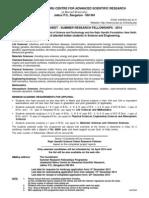 Application Form for SRFP 2014