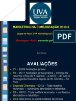 Marketing na Comunicação 2013.2 PDF