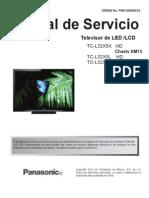 Panasonic Tc-l32x5x Ch.km15 Tc-l32x5l Tc-l32x5h Ch.km16 Led Lcd Tv