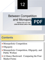 Monopolistic Competition and Oligopoly Ch12