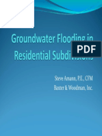 1D_Groundwater Flooding in Residential Subdivisions