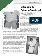 El Legado de Petrona Sandoval