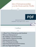 Principles of Entrepreneurship