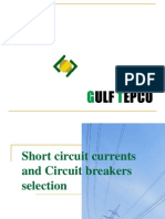 Short Circuit Currents and Circuit Breaker Selection