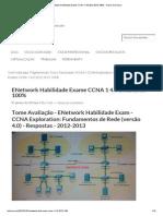 ENetwork Habilidade Exame CCNA 1 4
