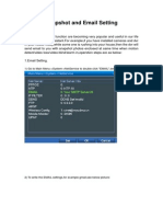 Snapshot,Email&FTP Setting