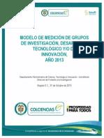Modelo de Medicion Grupos 2013-Definitiva s