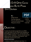 Design of a QPSK Carrier Generation by RC