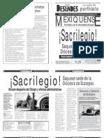 Versión impresa del periódico El mexiquense 11 diciembre 2013