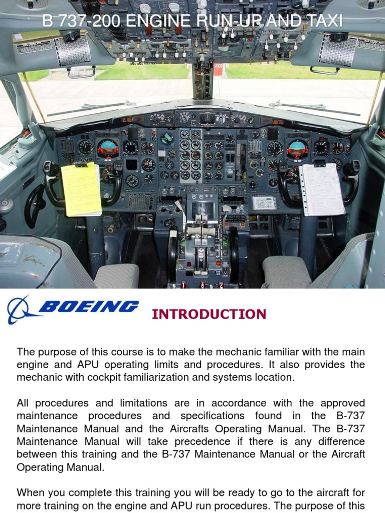 737 200 runup landing gear thrust rh es scribd com 737- 100 737- 100