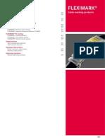 Catalogo Fleximark Ingles