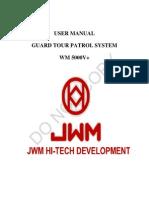 Manual Software Jwm Wm5000v+