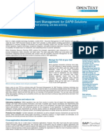 Ot Document Access for Sap En
