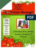 December 15 Newsletter