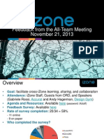 all-team meeting 11 21 survey feedback cw