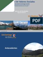 Estudio de Valores Sociales y Politica UdeSantiago Dic 2013