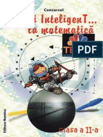 Carti. Concursul.fii.Inteligent.la.Matematica. Clasa.2. Ed.nomina. TEKKEN