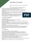 Strategic Audit of a Corporation
