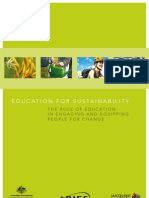 Education for Sustainability