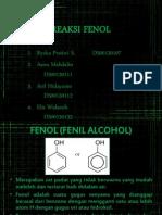 Reaksi Fenol