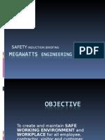 Megawatts Safety Induction