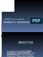 Megawatts Safety Induction
