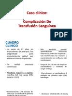 Caso Clinico Farmaco 1 (Transfusiones)