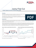 Economy First Cut - Trade