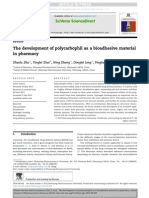 The Development of Polycarbophil as a Bioadhesive Material
