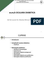 BOALA OCULARA DIABETICA