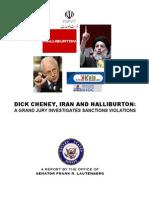 REPORT Halliburton Iran