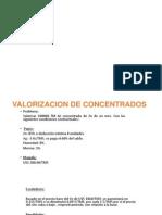 Valorarizacion de Concentrados de Zinc-Actualizado