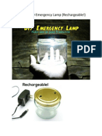 Ultrabright LED Emergency Lamp