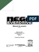 Mega EverDrive Manual SPANISH PCBv1.00 FWv3 OSv1