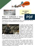 Mano é confirmado e inicia sua segunda passagem pelo Corinthians